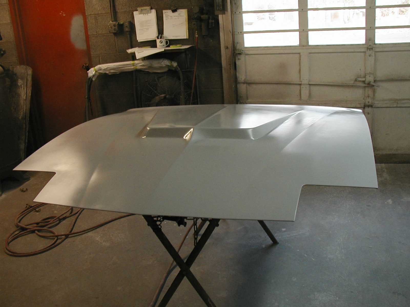 Custom Build Hood Scoop