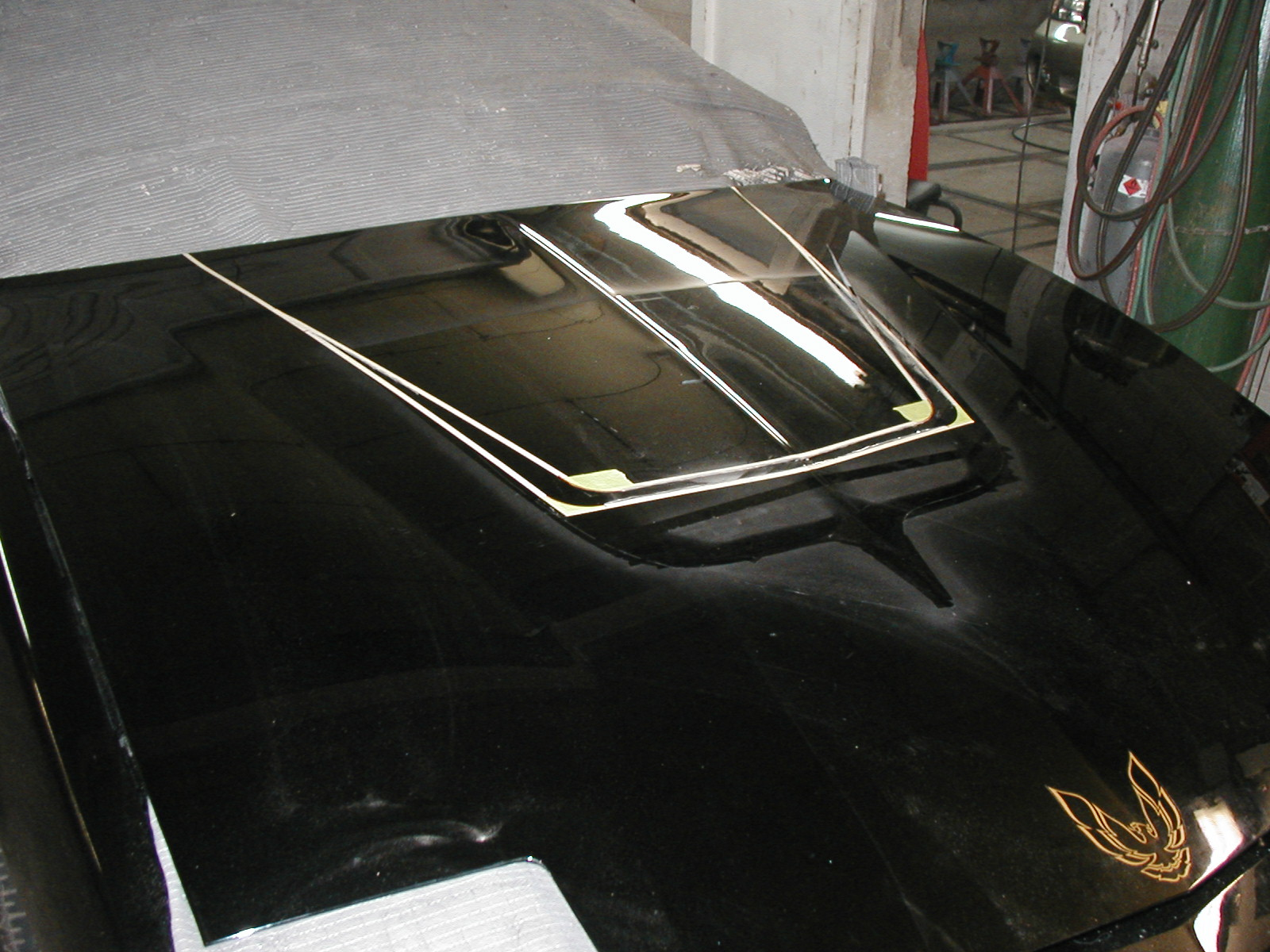 Custom Built Hood Scoop