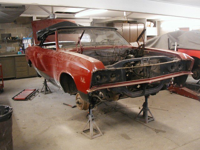 67 Chevelle Convertible | Before