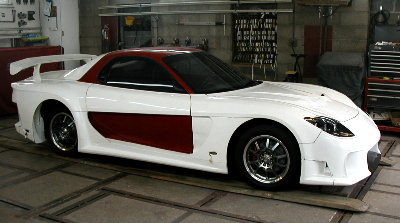Mazda Rx7 with Full Body Kit | Before